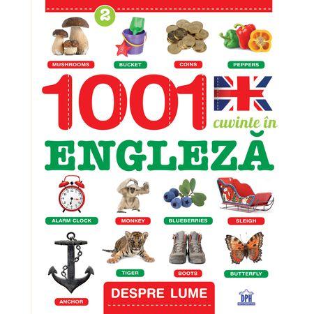 1001 Cuvinte in engleza, Despre lume, Creabooks, engleza copii, carte engleza incepatori, carte poze engleza, dph, carti educative