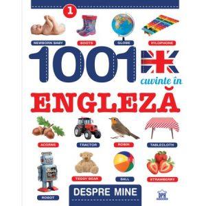 1001 Cuvinte in engleza – Despre mine, Creabooks