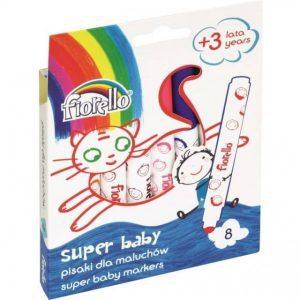 Carioci lavabile 8 culori SuperBaby – Fiorello