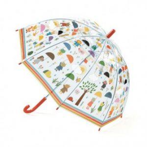 Umbrelă Djeco În ploaie