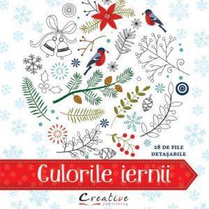 Culorile iernii – carte cu planse detasabile