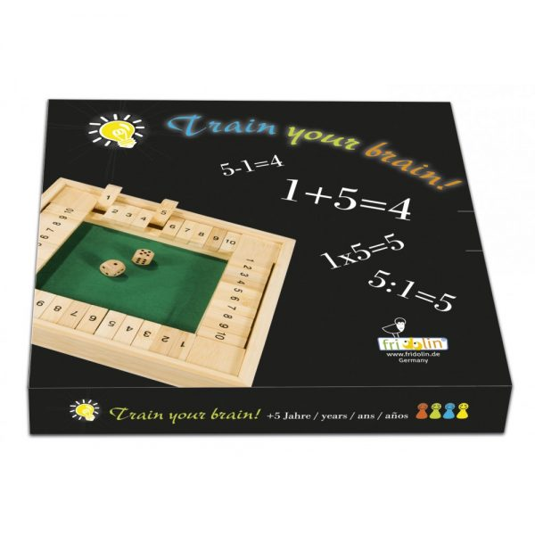 Joc de societate - Antreneaza-ti mintea - Fridolin, joc educativ, games board, joc de familie, joc logic