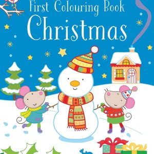 First Coloring Book – Christmas