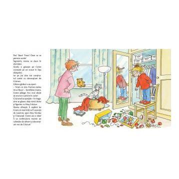 Conni sarbatoreste Craciunul, Liane Schneider, Eva Wenzel-Burger, prietena mea conni, editura casa carti, carte de craciun cu conni