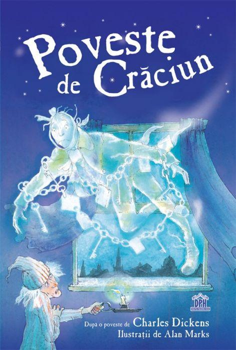 Poveste de Craciun, Ebenezer Scrooge, Charles Dickens, carti de craiun, povesti de craciu, carti pentru copii, editura dph, carti promotie