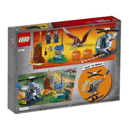 Evadarea Pteranodonului (10756), LEGO® Juniors, lego dragoni, lego original, jocuri constructie