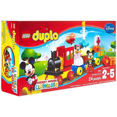Parada de ziua lui Mickey și Minnie 10597, LEGO® DUPLO®, lego original, lego disney, joc educativ, joc personaje desene animate, joc cu numere