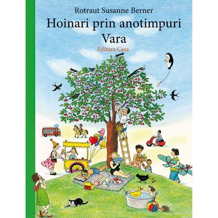 Hoinari prin anotimpuri - Vara, carti hoinari prin anotimpuri, Rotraut Susanne Berner, editura casa, carti copii, carti ilustrate, carti de colectie copii, carti educative