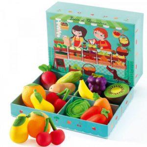 Fructe si legume Djeco