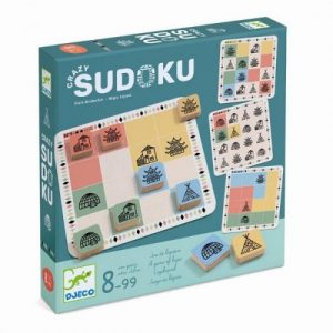 Joc de strategie Djeco – Crazy Sudoku