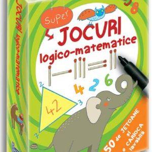 Jocuri logico-matematice – 50 de jetoane – Philip Kiefer