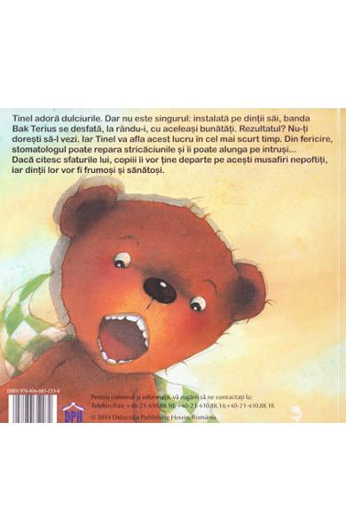 arte pentru copii despre dinți și dentist, carte dentist copii