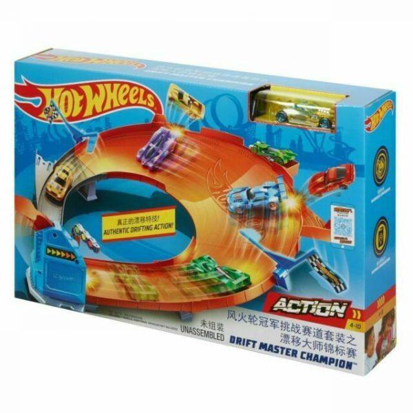 Set Hot Wheels Drift Master Champion, bebelind
