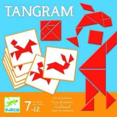 Joc Tangram Djeco, jocuri tangram, jocuri puzzle, jocuri inteligenta, jocuri logice, jocuri Djeco