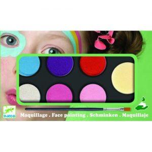 Djeco Culori make-up non alergice – pastel