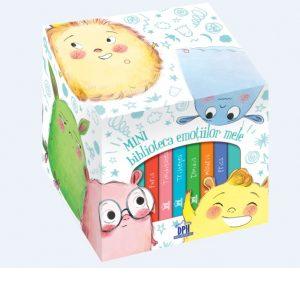 Minibiblioteca emotiilor mele - 6 povesti inedite ,Stéphanie Couturier, Maurèen Poignonec, carti bebe, carti emotii copii, carticele cartonate copii mici, carticele copii, carti editira dph, carti educative