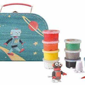Set de modelaj cu plastilina – Astro-Robot