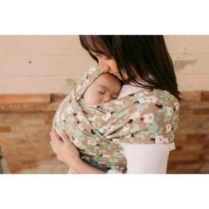 Boba Wrap Elastic Pentru Purtarea Bebelușilor – Magnolia