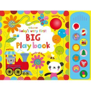 Baby's very first big play book – Usborne