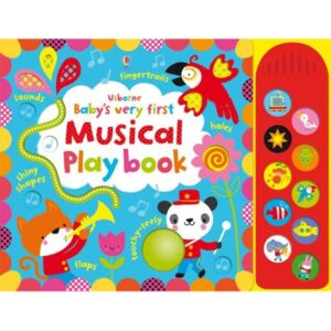 "Carte muzicala ""Baby's very first touchy-feely musical play book"""