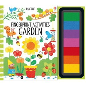 Carte de pictat Fingerprint activities: Garden