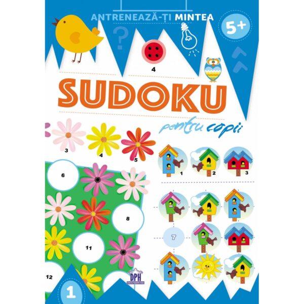 Sudoku pentru copii - CreaBooks,jocuri logice pentru copii, sudoku copii, jocuri educative copii, jocuri de gandire copii