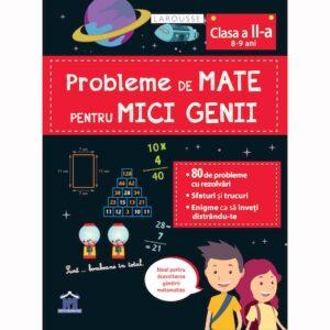 Probleme de mate pentru micii genii 8-9 ani (clasa a II-a)