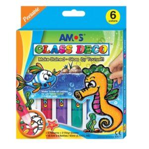 Amos Glass Deco 6 Culori – a fi artist