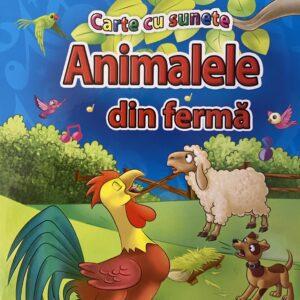 Carte cu sunete – animalele de la ferma