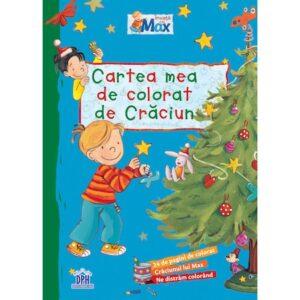 Cartea mea de colorat de Craciun – Invata cu Max