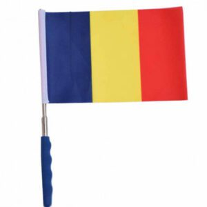 Stegulet drapel national Romania extensibil (60 cm)