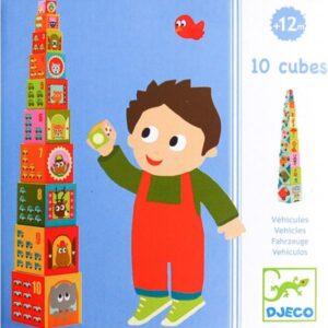 Turn de construit Djeco – Masini