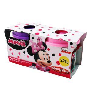 Set 2 borcanase plastilina – Minnie