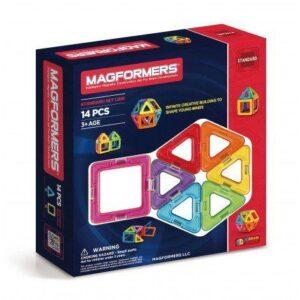 Set Magformers (14 piese) – Joc Constructie Magnetic 3D