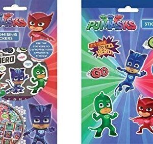 Set autocolante PJ Mask (200 stickere)