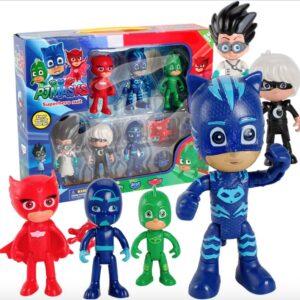 Set 6 figurine PJ Masks cu accesorii