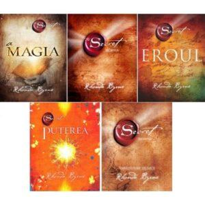 Pachet 5 volume – Secretul, Invataturi zilnice, Puterea, Eroul si Magia – Rhonda Byrne