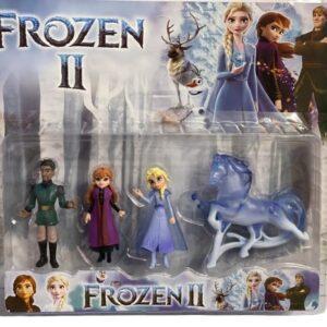 Set figurine Frozen II (4 piese)