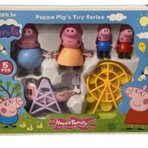 Set Peppa Pig – in vacanta (Happy family)