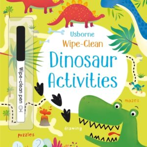 Wipe-clean dinosaur activities (3 ani+)