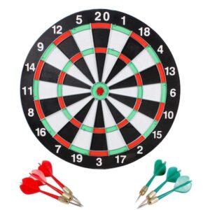 Set joc darts cu 6 sageti si 2 fețe pentru joc