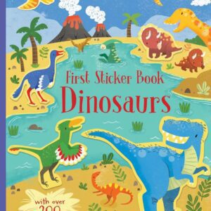 Dinosaurs First Sticker Book – Usborne
