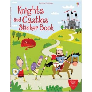 Knights and Castles Sticker Book – Usborne